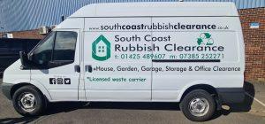 South Coast Rubbish Clearance Van
